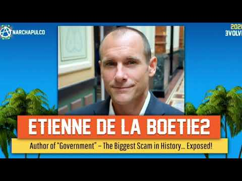 """How Organized Crime Runs the """"Government"""" and Media Etienne's Speech to Anarchapulco 2020"""